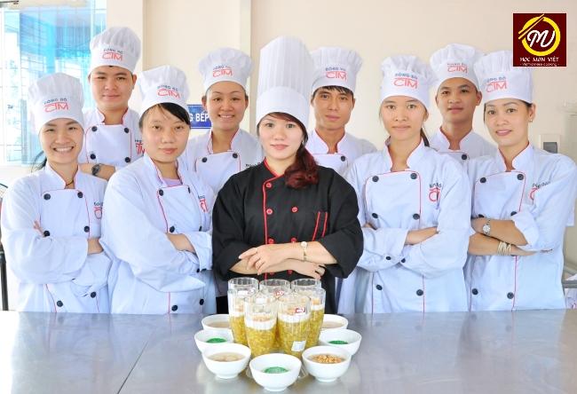 hình ảnh lớp học nấu chè ngon - Học Món Việt - Học Trung cấp