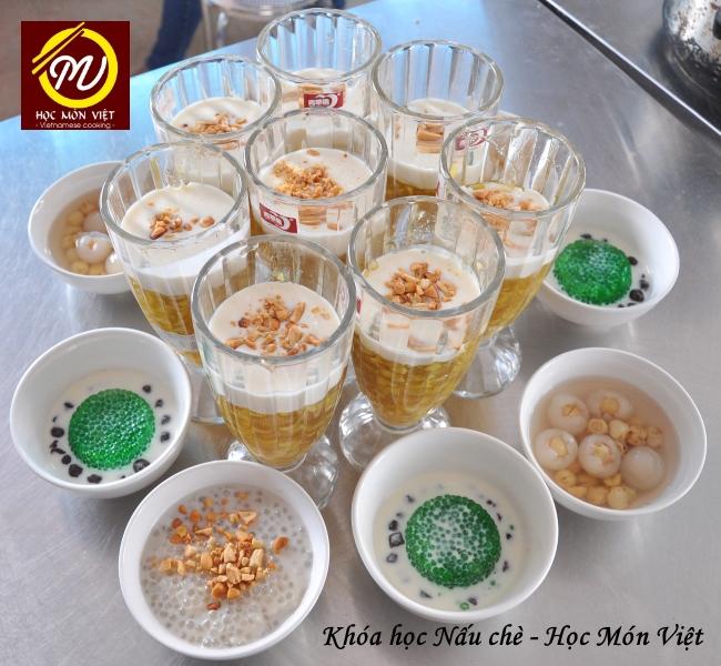 lớp học nấu chè ngon - Học Món Việt - Học Trung cấp