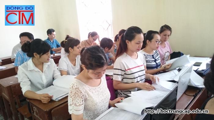 nghiệp vụ kế toán - Học Trung cấp Kế toán tại Hà Nội
