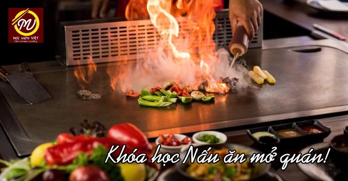 Khóa học nấu ăn mở quán Học Món Việt - Học Trung cấp