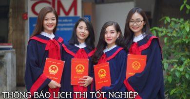 thông báo lịch thi tốt nghiệp - Học Trung cấp - Trung cấp Đông Đô