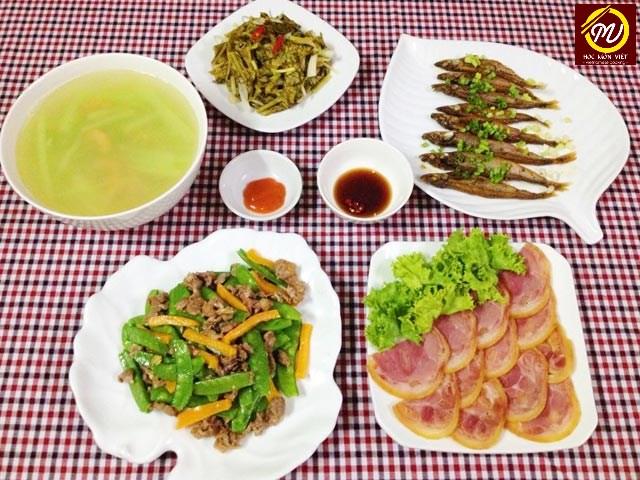 Khóa học nấu ăn gia đình buổi tối - Học Món Việt
