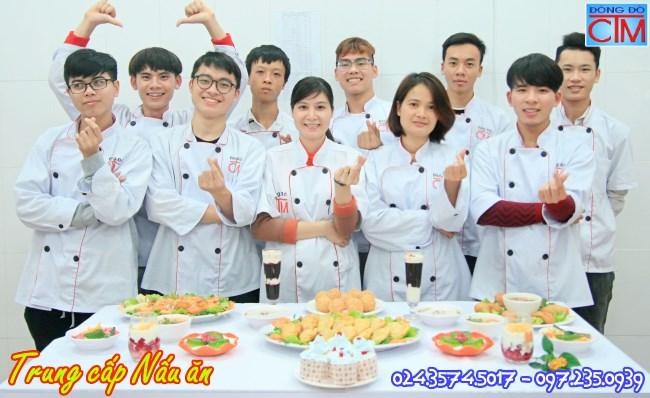 học trung cấp nấu ăn 2019 học Trung cấp Đông Đô