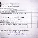 đánh giá của học viên khóa học nấu ăn gia đình 01 tại Học Món Việt