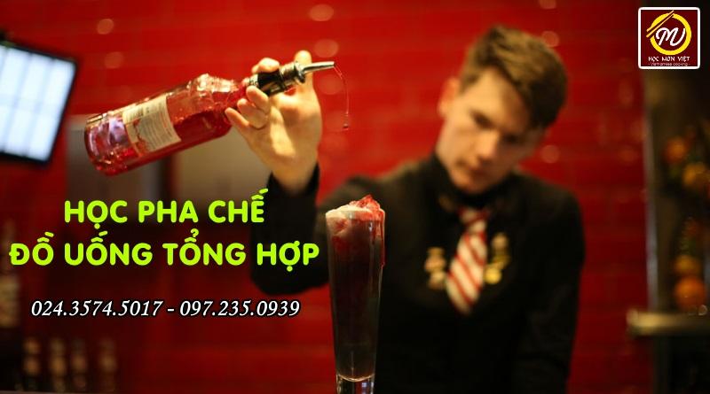 Khóa học Pha chế đồ uống tổng hợp tại Học Món Việt - Học Trung cấp