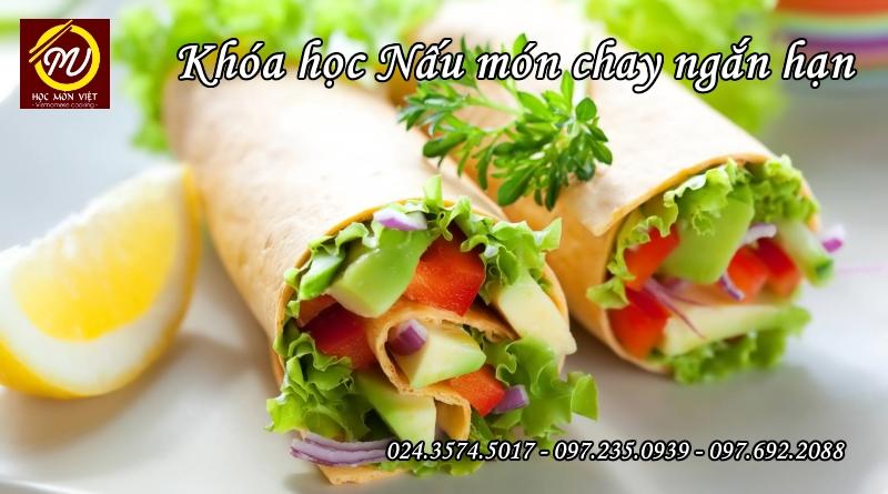 khóa học nấu món chay cơ bản - Học Trung cấp - Học Món Việt