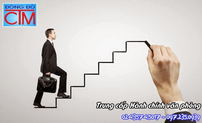 cơ hội thăng tiến ngành Hành chính văn phòng - Học Trung cấp Đông Đô