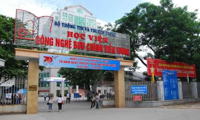 top 5 trường đào tạo công nghệ thông tin tại Hà Nội học viện công nghệ bưu chính viễn thông học trung cấp