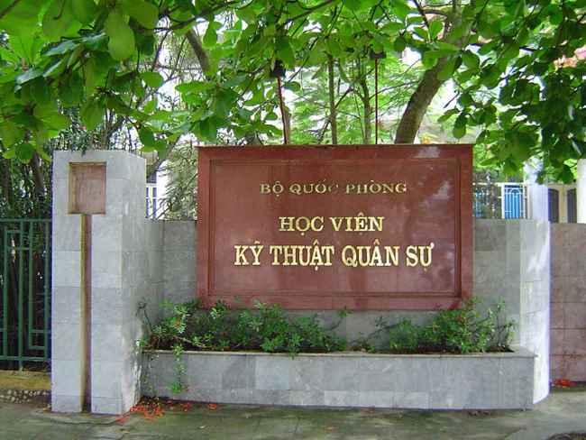 top 5 trường đào tạo công nghệ thông tin tại Hà Nội học viện kỹ thuật quân sự học trung cấp
