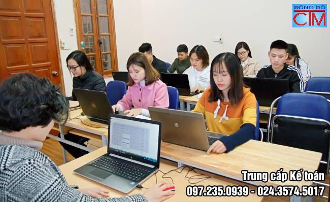 trường đào tạo kế toán tại hà nội học trung cấp kế toán