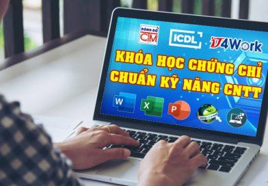 chứng chỉ tin học quốc tế ICDL được công nhận đáp ứng chuẩn kỹ năng công nghệ thông tin theo Thông tư 03 Bộ Thông tin và Truyền thông của IT4Work tại trường Trung cấp Công nghệ và Quản trị Đông Đô