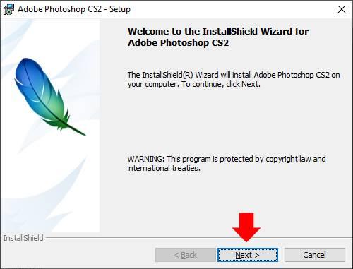 hướng dẫn cài đặt phần mềm Photoshop CS2 06 trường Trung cấp Công nghệ và Quản trị Đông Đô