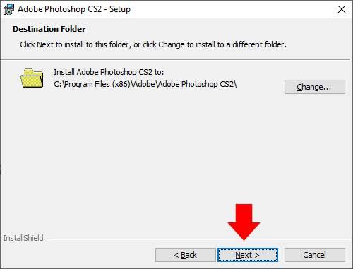 hướng dẫn cài đặt phần mềm Photoshop CS2 09 trường Trung cấp Công nghệ và Quản trị Đông Đô
