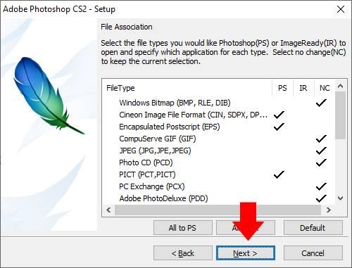hướng dẫn cài đặt phần mềm Photoshop CS2 10 trường Trung cấp Công nghệ và Quản trị Đông Đô