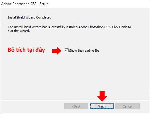 hướng dẫn cài đặt phần mềm Photoshop CS2 13 trường Trung cấp Công nghệ và Quản trị Đông Đô