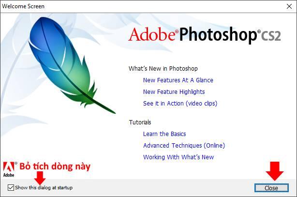 hướng dẫn cài đặt phần mềm Photoshop CS2 16 trường Trung cấp Công nghệ và Quản trị Đông Đô