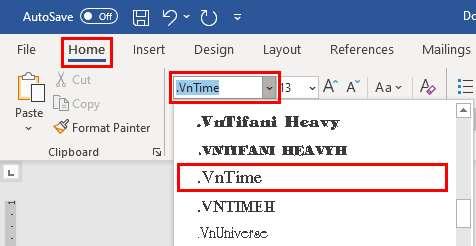 cách gõ tiếng Việt trong Word ảnh 5 trường Trung cấp Công nghệ và Quản trị Đông Đô
