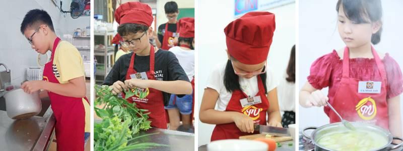 vì sao nên dạy nấu ăn cho trẻ em ảnh 3 tại Học Món Việt