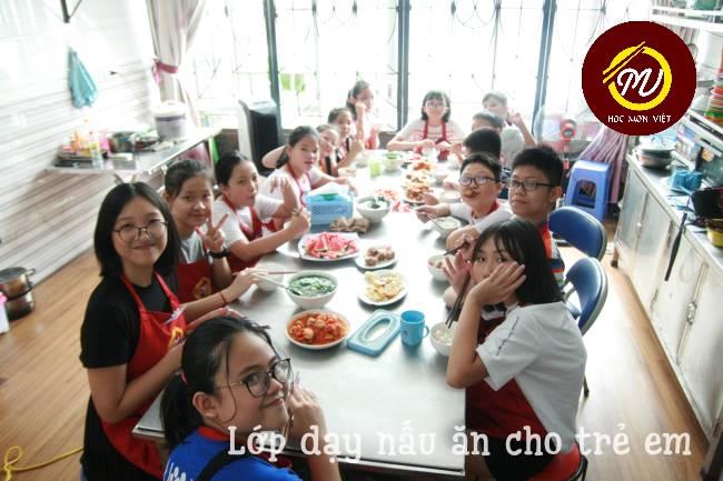 vì sao nên dạy nấu ăn cho trẻ em ảnh 4 tại Học Món Việt
