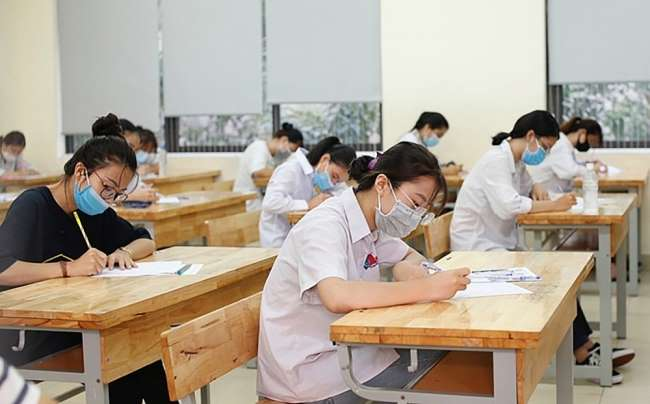 Thí sinh Hà Nội nhận giấy báo dự thi ĐH, CĐ chậm nhất vào ngày 15/6 ảnh 1 kỳ thi tốt nghiệp THPT 2021