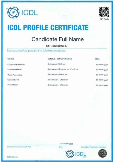 Khoá ôn thi Chứng chỉ tin học quốc tế ICDL ảnh 3 tại IT4Work